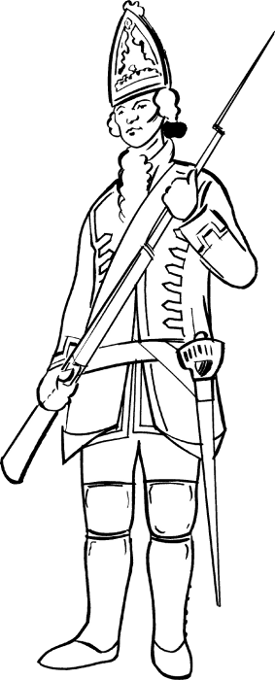 The Jacobites - Interactive Redcoat Soldier